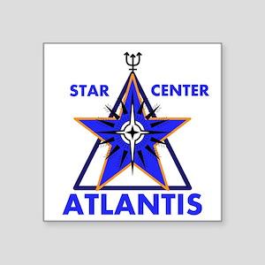 Star Center Atlantis Sticker