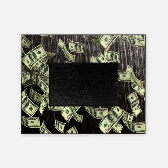 Raining Cash Money Picture Frame
