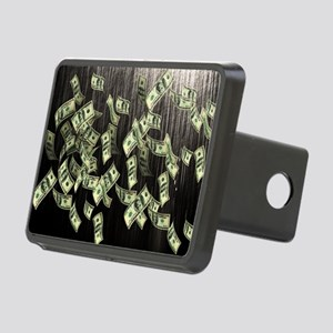 Raining Cash Money Rectangular Hitch Cover