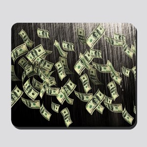 Raining Cash Money Mousepad