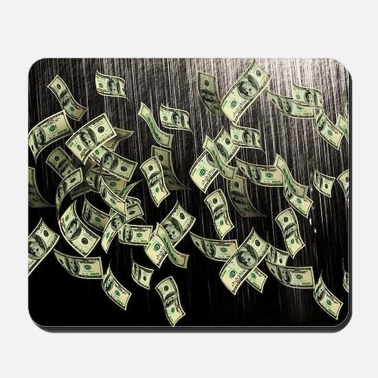 Raining Cash Money Mousepad