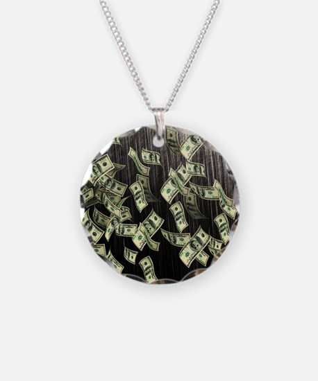 Raining Cash Money Necklace
