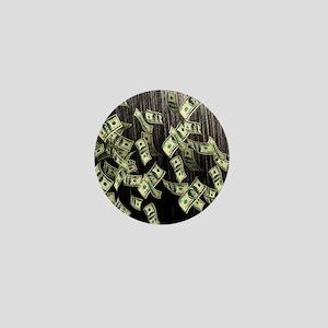 Raining Cash Money Mini Button