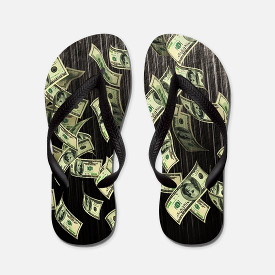 Raining Cash Money Flip Flops