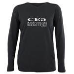 CE5 Andromeda Make It So Plus Size Long Sleeve Tee