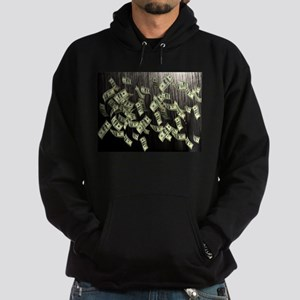 Raining Cash Money Hoodie (dark)