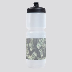 Raining Cash Money Sports Bottle