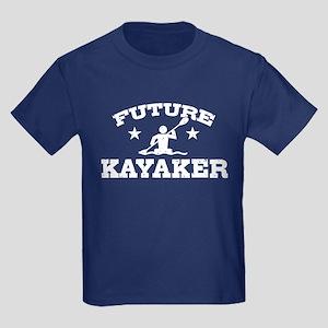Future Kayaker Kids Dark T-Shirt