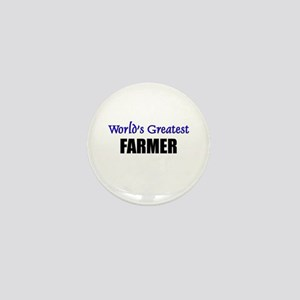 Worlds Greatest FARMER Mini Button
