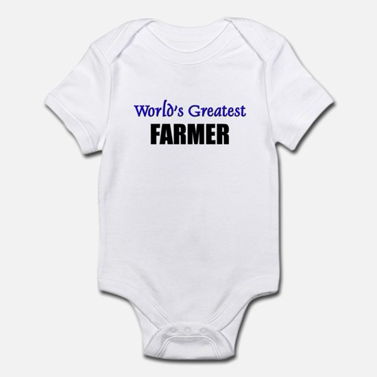 Worlds Greatest FARMER Infant Bodysuit