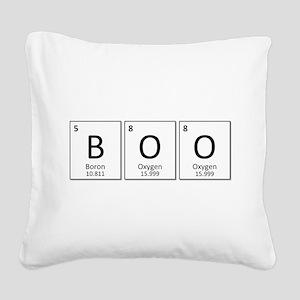 Boron Oxygen Oxygen Square Canvas Pillow