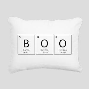 Boron Oxygen Oxygen Rectangular Canvas Pillow