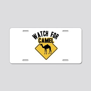 Watch For Camel Aluminum License Plate