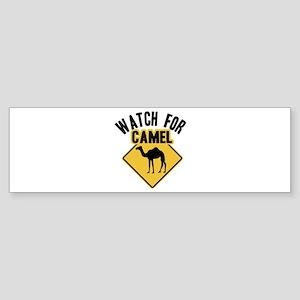 Watch For Camel Bumper Sticker