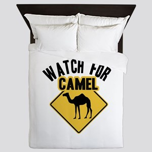 Watch For Camel Queen Duvet
