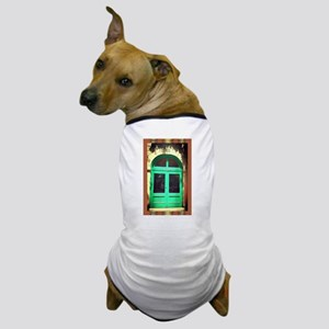 Door-earth-tone-art-Latino Dog T-Shirt