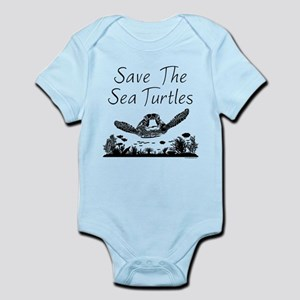 Save The Sea Turtles Body Suit