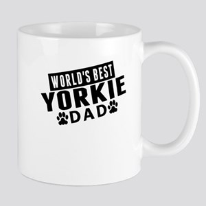 Worlds Best Yorkie Dad Mugs
