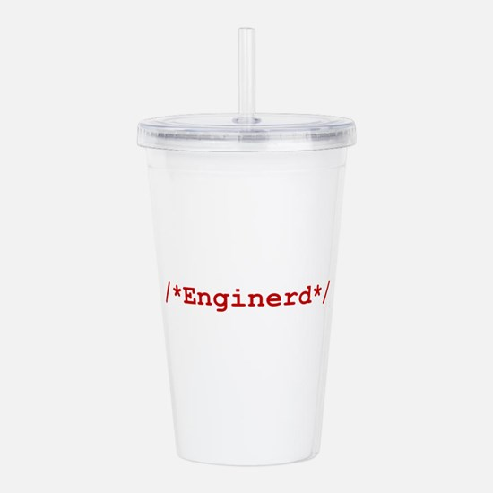Unique Programmers Acrylic Double-wall Tumbler