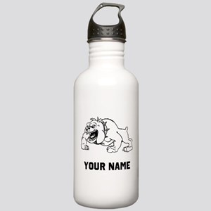 Mean Bulldog Water Bottle