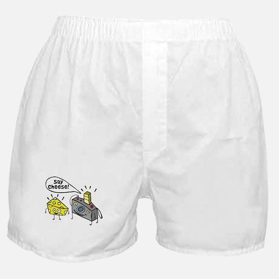 Say cheese!!! Boxer Shorts