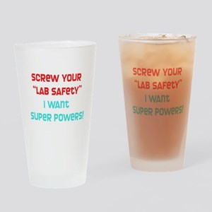 Lab Safety Drinking Glass