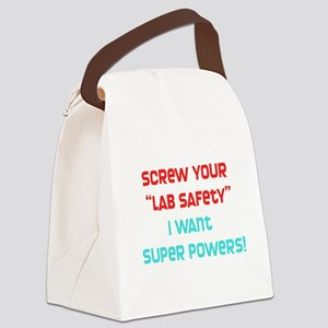 Lab Safety Canvas Lunch Bag