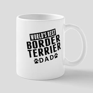 Worlds Best Border Terrier Dad Mugs