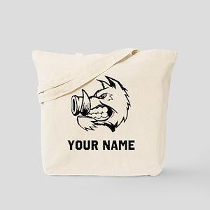 Razorback Boar Tote Bag
