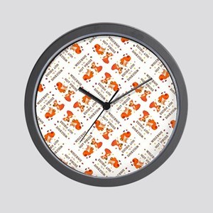 WELCOME TO... Wall Clock