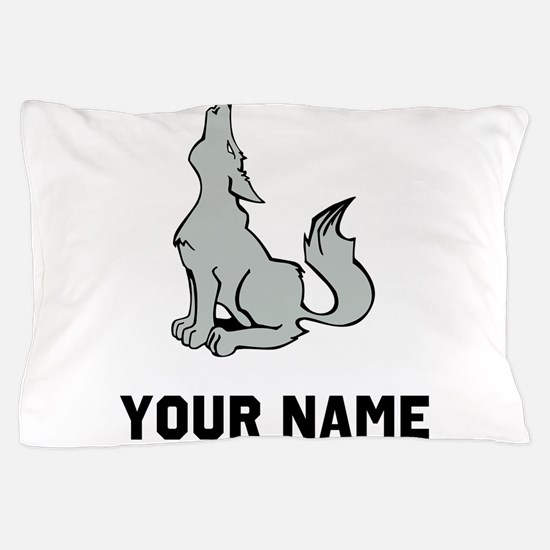Coyote Howling Pillow Case