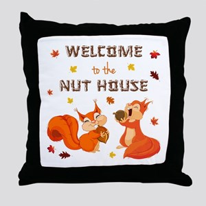 WELCOME TO... Throw Pillow