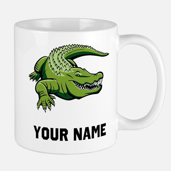 Green Alligator Mugs