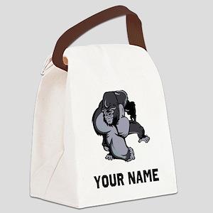 Big Gorilla Canvas Lunch Bag