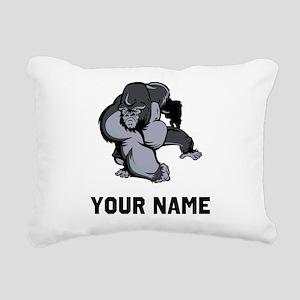 Big Gorilla Rectangular Canvas Pillow