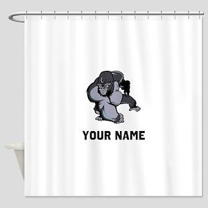 Big Gorilla Shower Curtain