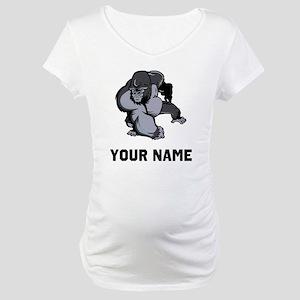Big Gorilla Maternity T-Shirt
