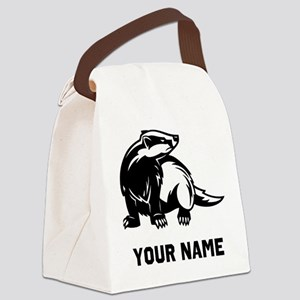Honey Badger Canvas Lunch Bag