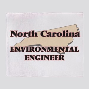 North Carolina Environmental Enginee Throw Blanket