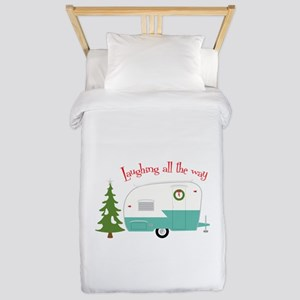 Laughing All The Way Twin Duvet
