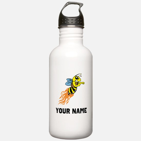 Bee Mascot Water Bottle