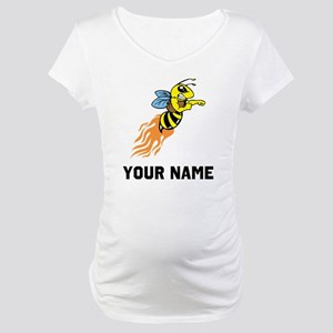 Bee Mascot Maternity T-Shirt