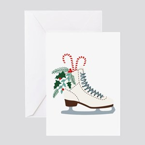 Holiday Ice Skate Greeting Cards