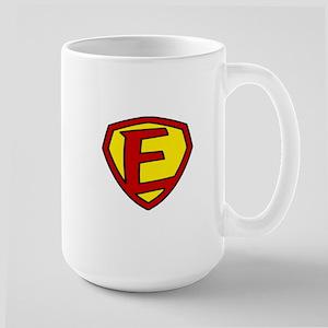 Super F Logo Costume 05 Large Mug