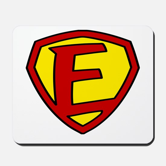 Super F Logo Costume 05 Mousepad