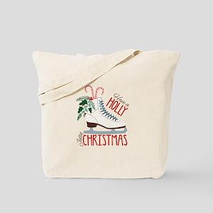 Holly Christmas Tote Bag