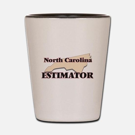 North Carolina Estimator Shot Glass