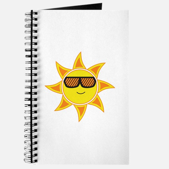 Sun With Glasses Journal