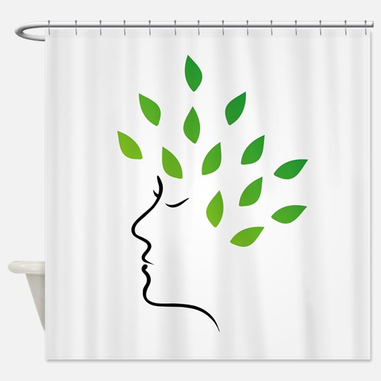 Cool Health and beauty Shower Curtain