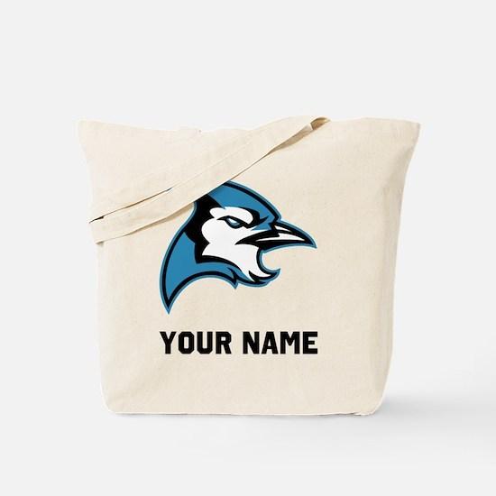 Bluejay Head Tote Bag